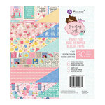 Prima - Julie Nutting - Traveling Girl Collection - 6 x 6 Paper Pad