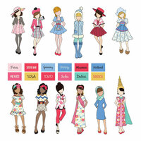 Prima - Julie Nutting - Traveling Girl Collection - Doll Ephemera