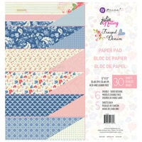 Prima - Julie Nutting - Frayed Denim Collection - 12 x 12 Paper Pad