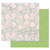 Prima - Julie Nutting - Solecito Collection - 12 x 12 Double Sided Paper - Flower Wall