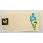 Prima - Donna Downey Collection - Embroidered Canvas Tags - 2 Pieces - Be, CLEARANCE