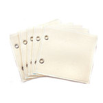 Prima - Donna Downey Collection - Refill Canvas Pages - 6 x 6