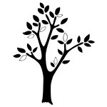 Prima - Donna Downey Collection - Foam Stamps - Large Tree