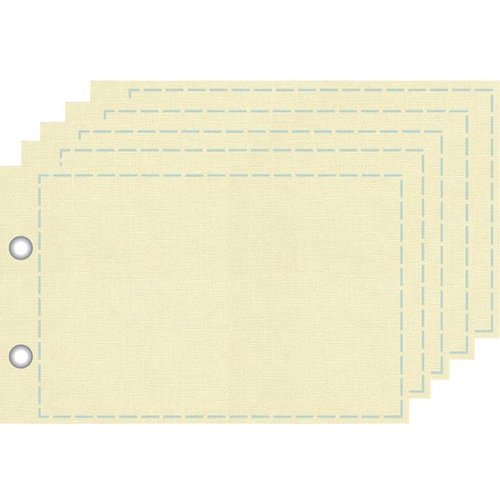 Prima - Donna Downey Collection - Refill Canvas Page - 4 x 6