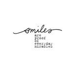Prima - Donna Downey Collection - Flocked Iron Ons - Smiles