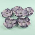 Prima - Elle Collection - Donna Downey - Flower Embellishments - Purple