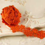 Prima - Cabachon Collection - Donna Downey - Lace - Peach - 30 Yards