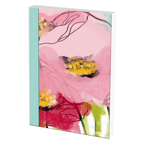 Prima - Poppies and Peonies Collection - Donna Downey - Art Journal - 1