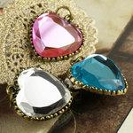 Prima - Vintage Trinkets Collection - Metal Embellishments - Hearts