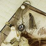 Prima - Vintage Trinkets Collection - Metal Embellishments - Tassels