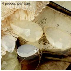 Prima - Vintage Trinkets Collection - Metal Embellishments - Tear Drop