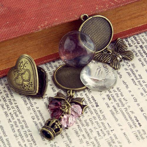 Prima - Vintage Trinkets Collection - Metal Embellishments - Mix 2