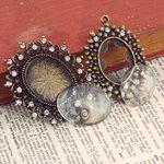 Prima - Vintage Trinkets Collection - Metal Embellishments - Mix 4