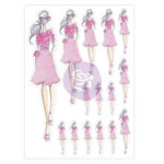 Prima - My Prima Planner Collection - Josefina Planner Stickers - Tea Time with Glitter Accents