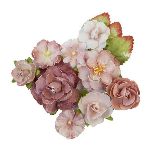 Prima - Sharon Ziv Collection - Flower Embellishments - Mauve Dream