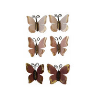 Prima - Sharon Ziv Collection - Flower Embellishments - Butterfly Chase