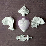 Prima - Archival Cast Collection - Relics and Artifacts - Plaster Embellishments - Chivalry