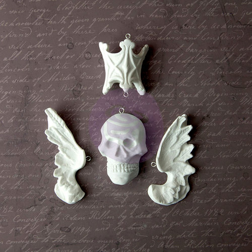 Prima - Archival Cast Collection - Relics and Artifacts - Plaster Embellishments - Ancient Soul