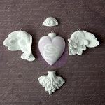 Prima - Archival Cast Collection - Relics and Artifacts - Plaster Embellishments - Rising Spirit
