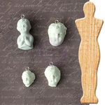 Prima - Archival Cast Collection - Relics and Artifacts - Wood Support - Figureheads II