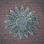 Prima - Relics and Artifacts - Dresden Trim - Silver Rosette