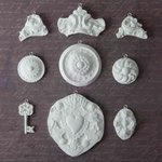 Prima - Archival Cast Collection - Relics and Artifacts - Plaster Embellishments - Regalis