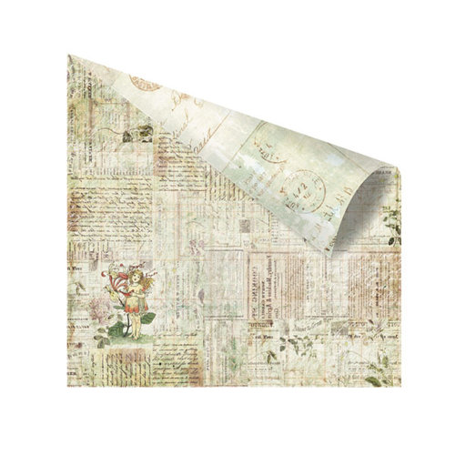 Prima - Nature Garden Collection - 12 x 12 Double Sided Paper - Meeting a Fairy