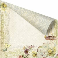 Prima - Fairy Belle Collection - 12 x 12 Double Sided Paper - Summer Dream