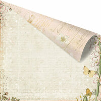 Prima - Fairy Belle Collection - 12 x 12 Double Sided Paper - Marcelle