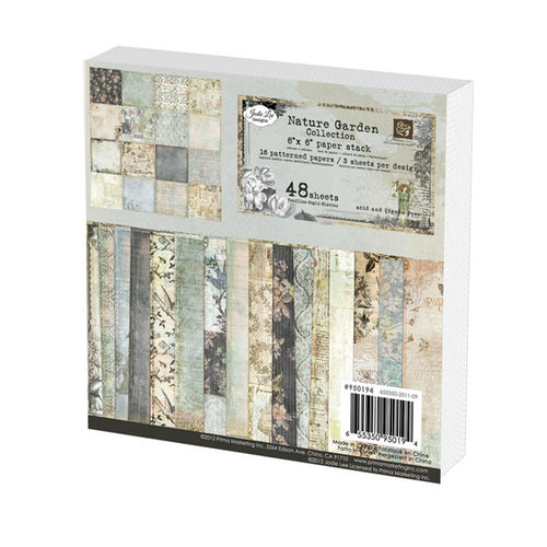 Prima - Nature Garden Collection - 6 x 6 Paper Pad