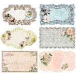 Prima - Fairy Belle Collection - Journaling Notecards in a Box - 2