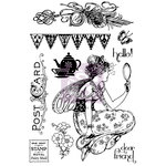 Prima - Fairy Rhymes Collection - Cling Mounted Rubber Stamps