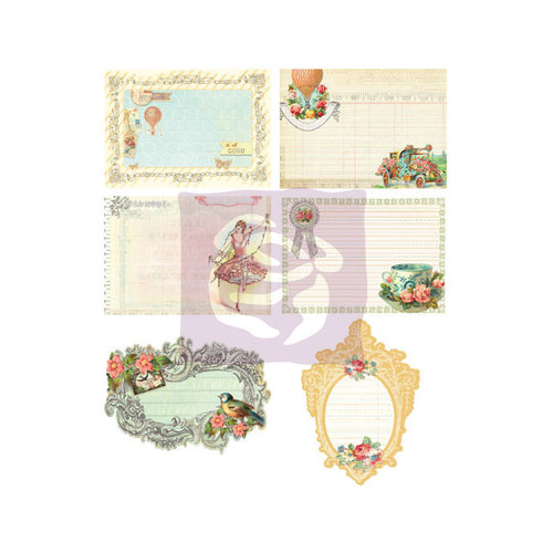 Prima - Divine Collection - Journaling Notecards