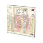 Prima - 12 x 12 Art Journal Paper Pad