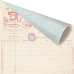 Prima - Delight Collection - 12 x 12 Double Sided Paper - Discover