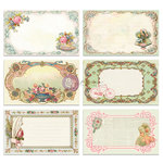Prima - Delight Collection - 3 x 5 Journaling Note Card Set