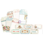 Prima - Delight Collection - Tag Me - Ticket and Tag Set