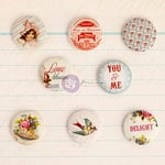 Prima - Delight Collection - Flair Buttons