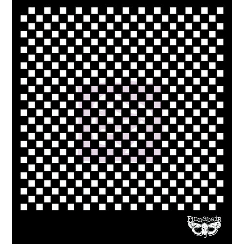 Prima - Sunrise Sunset Collection - Stencils Mask Set - 6 x 6 - Checker