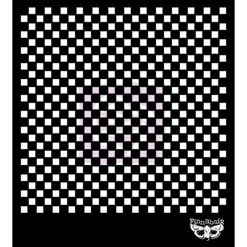 Prima - Sunrise Sun Collection - Stencil Mask - 6 x 6 - Checker