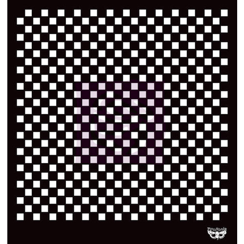 Prima - Sunrise Sun Collection - Stencil Mask - 12 x 12 - Checker