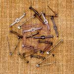Prima - Sunrise Sunset Collection - Mechanicals - Vintage Trinkets - Metal Embellishments - Pins