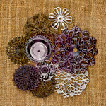 Prima - Sunrise Sunset Collection - Mechanicals - Vintage Trinkets - Metal Embellishments - Flowers
