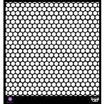 Prima - Finnabair Elementals - 12 x 12 Stencil Mask - Honeycomb