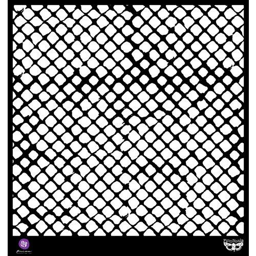 Prima - Finnabair Elementals - 12 x 12 Stencil Mask - Netting