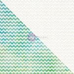 Prima - Finnabair Elementals - 12 x 12 Canvas Resist Sheet - White 2