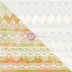Prima - Finnabair Elementals - 12 x 12 Canvas Resist Sheet - White 4