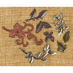 Prima - Finnabair Mechanicals - Vintage Trinkets - Leaves 2