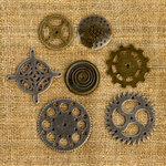 Prima - Finnabair Mechanicals - Vintage Trinkets - Gears