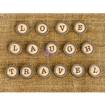 Prima - Finnabair Mechanicals - Vintage Trinkets - Love Travel and Laugh